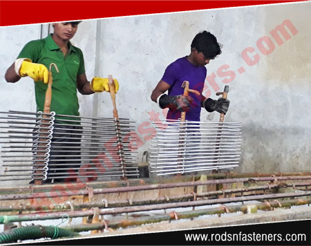 threaded rods coil rods carbon steel thread bars manufacturers exporters india punjab ludhiana