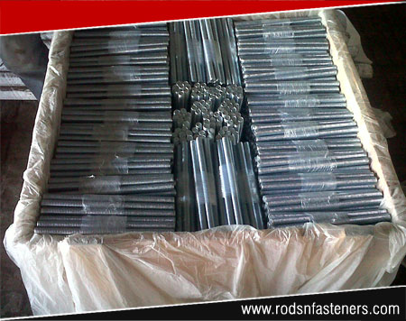 threaded rods packagings for exports from india - thread bars coil rods manufacturers exporters in india punjab